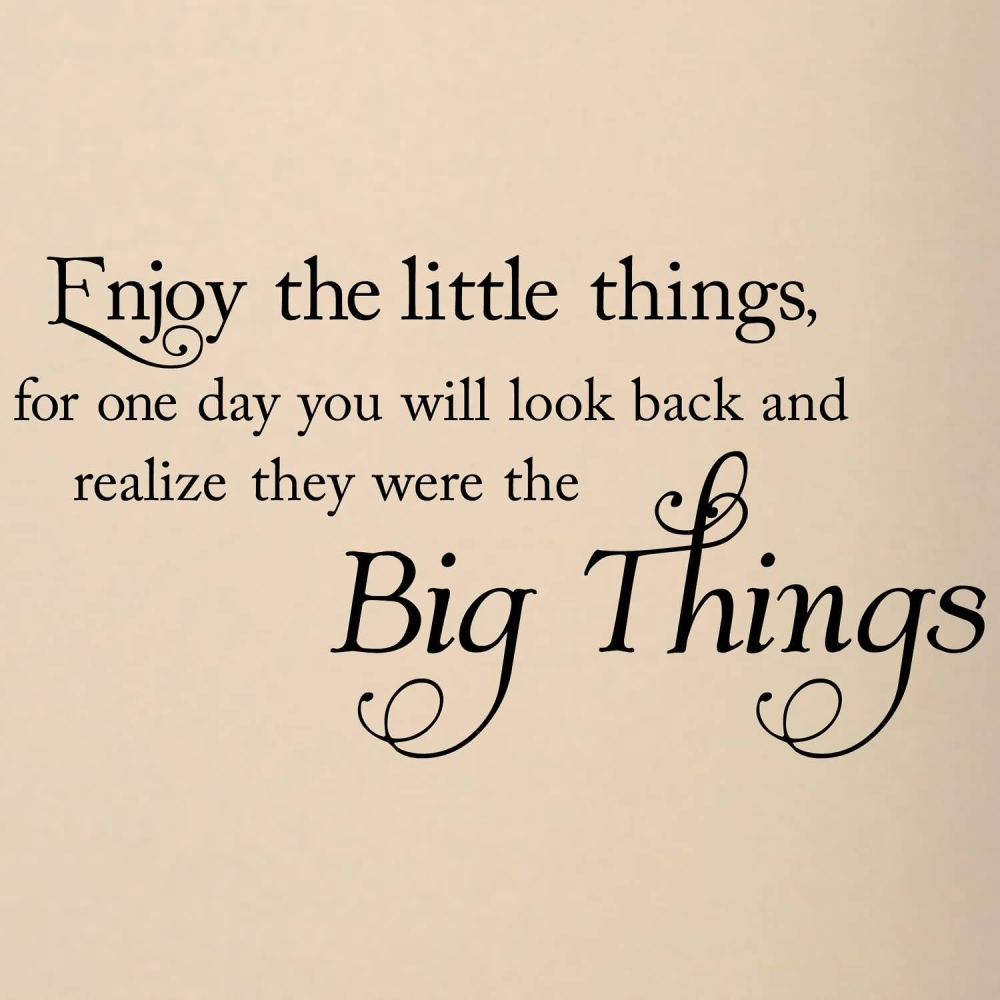 Appreciate The Little Things In Life Quote Enjoy Small Things In Life Quotes – Cbru